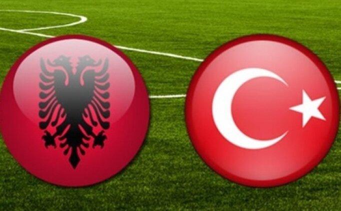 Bu akşam Arnavutluk Türkiye maçı hangi kanalda? Milli maç saat kaçta?