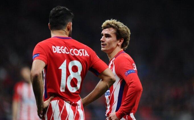 Diego Costa: 'Griezmann, Messi ve Suarez'i istedi'