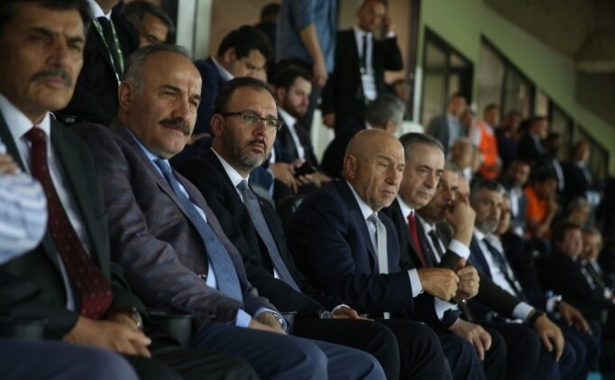 Bakan Kasapoğlu'dan Galatasaray'a tebrik!