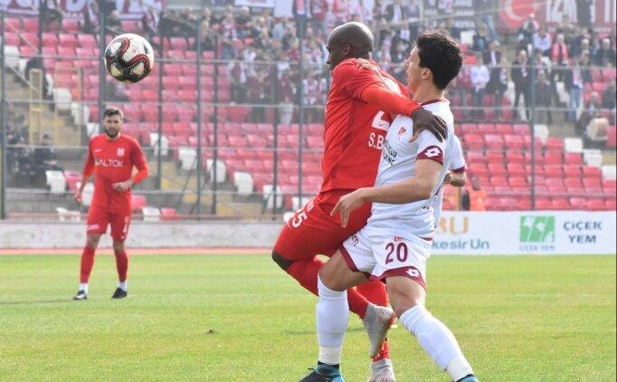 Balıkesirspor, 3 puanı 3 golle aldı!
