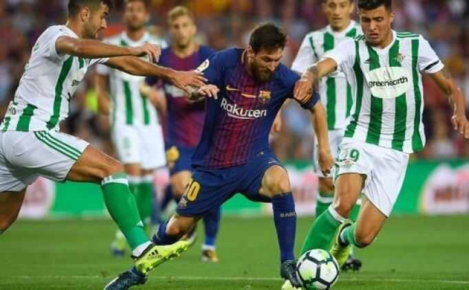 Real Betis Barcelona canlı hangi kanalda? Real Betis Barcelona maçı saat kaçta?