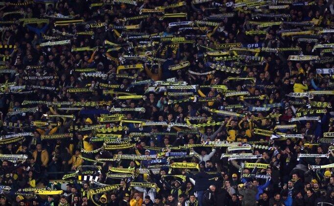 Fenerbahçe taraftarı yine hıncahınç doldurdu!