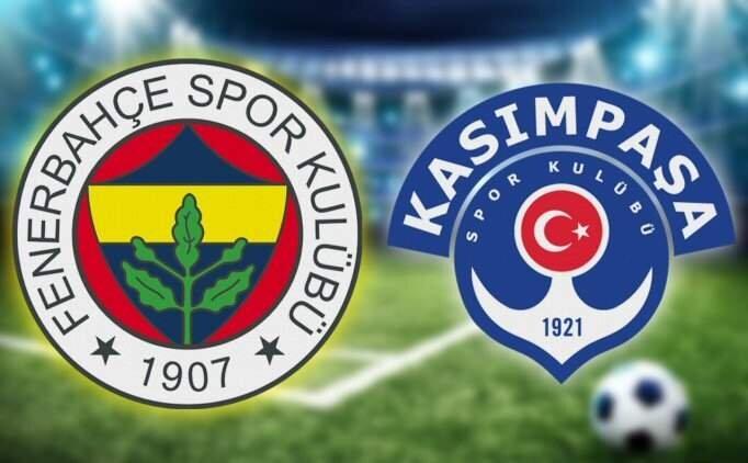 FB Kasımpaşa maçı özet, Fenerbahçe Kasımpaşa golleri izle