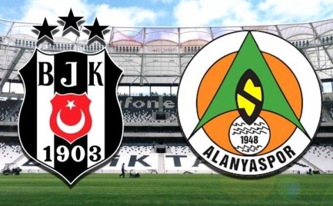 Beşiktaş Alanyaspor maçı özet ve golleri izle (beİN Sports)
