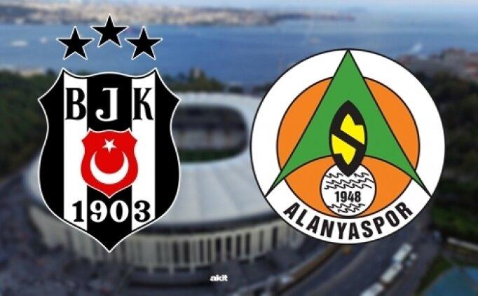 Beşiktaş Alanyaspor maçı canlı hangi kanalda? Beşiktaş Alanyaspor saat kaçta?