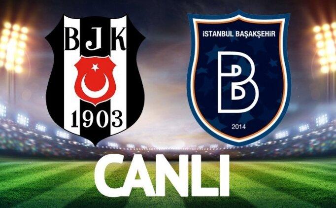 ÖZET: Beşiktaş Başakşehir maçı tüm golleri İZLE