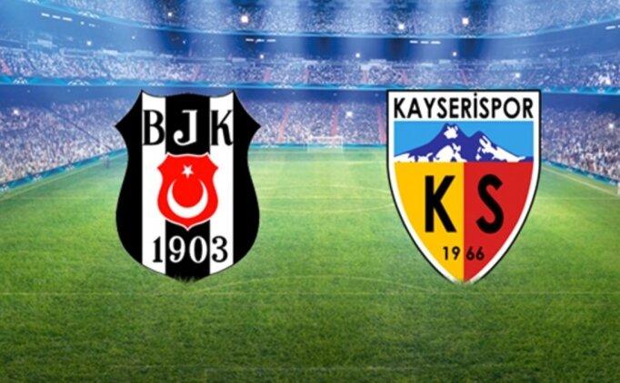 Beşiktaş Kayserispor CANLI İZLE, Şifresiz Kayserispor Beşiktaş maçı izle