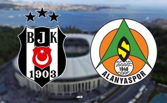 Beşiktaş Alanyaspor maçı golleri İZLE, ÖZET Beşiktaş Alanyaspor maçı burada