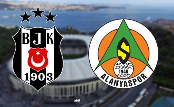 Beşiktaş Alanyaspor ÖZET İZLE! BJK Alanyaspor maçı skoru