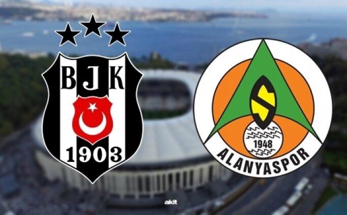 Beşiktaş Alanyaspor maçı özet izle (beİN Sports)
