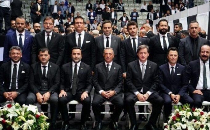 Beşiktaş Yönetimi'nde görev dağılımı gerçekleşti!