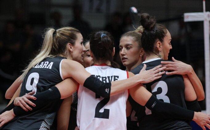Kadın voleybolda Beşiktaş, PTT'yi devirdi