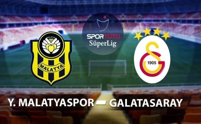 Yeni Malatyaspor Galatasaray maçı geniş ÖZET izle