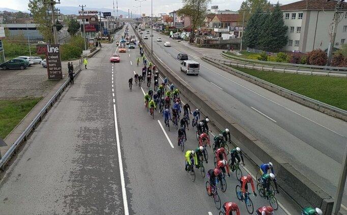 Cumhurbaşkanlığı Bisiklet Turu'nun 5. etabında zafer Grossschartner'in!
