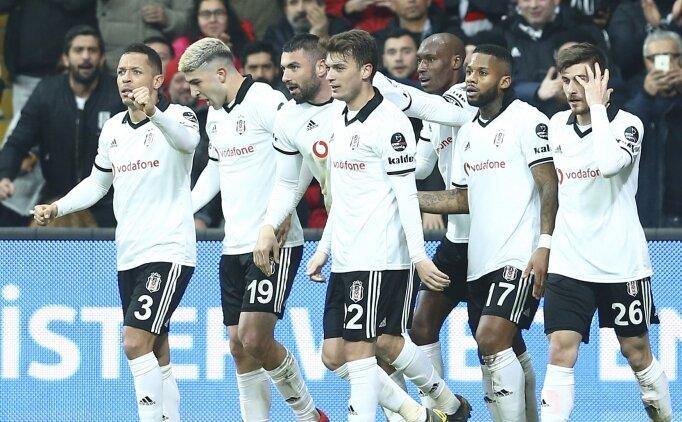 Burak Yılmaz attı, Beşiktaş kazandı