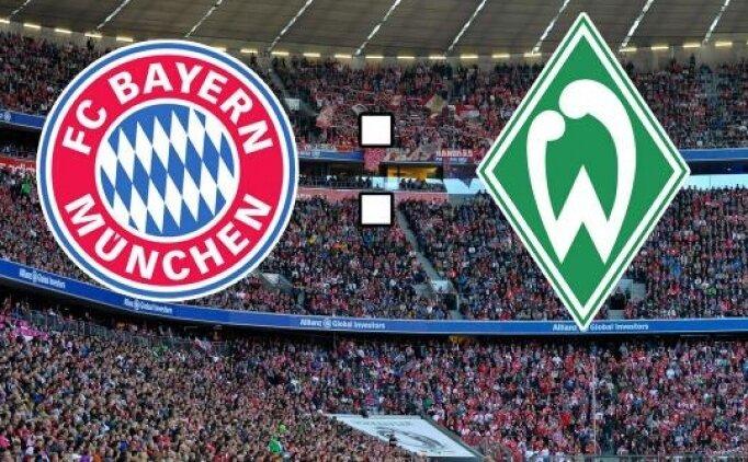 Bayern Münih Werder Bremen maçı canlı hangi kanalda saat kaçta?