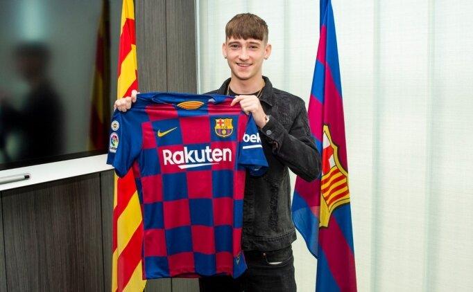 Barcelona'dan 16'lık transfer