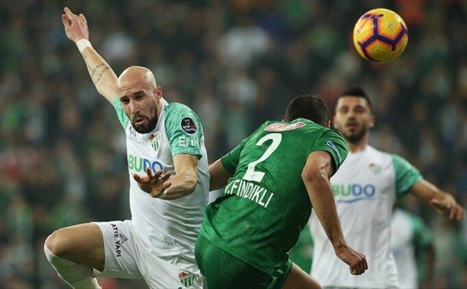 Bursaspor'da galibiyet hasreti 4 maça çıktı