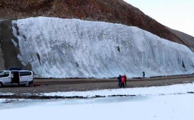 Adrenalin tutkunlarının yeni adresi Palandöken'deki buz parkı