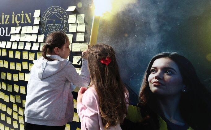 Çocuklardan Fenerbahçe'ye 'büyük' mesajlar!