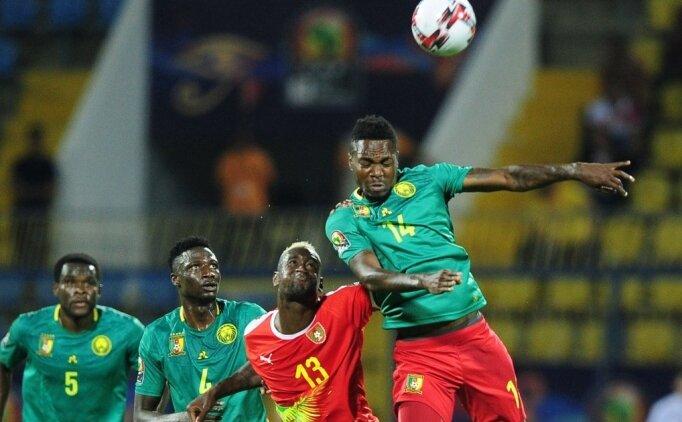 Kamerun, Gine'yi rahat geçti