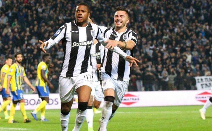 PAOK'un 23'lük golcüsü Fenerbahçe ve Galatasaray'ın gözdesi