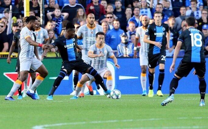 ÖZET Club Brugge Galatasaray maçı İZLE