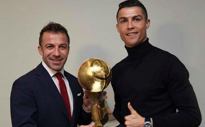 Juventus efsanesi Del Piero, Ronaldo'ya güveniyor!