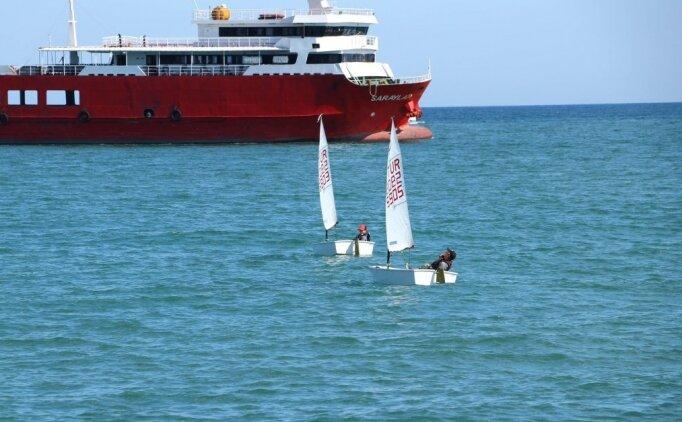 Mavi suların 'şampiyon' yelkencileri