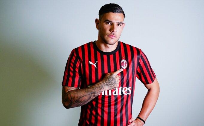 Theo Hernandez: 'Milan'a tarih yazmaya geldim'