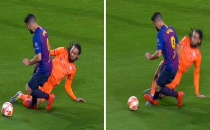 Jason Denayer - Luis Suarez: Penaltı mı?