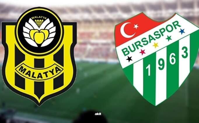 Yeni Malatyaspor Bursaspor maçı geniş özet ve golleri izle