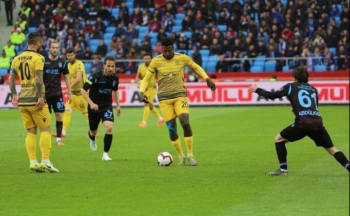 Yeni Malatyaspor'un serisi Trabzon'da sonlandı!