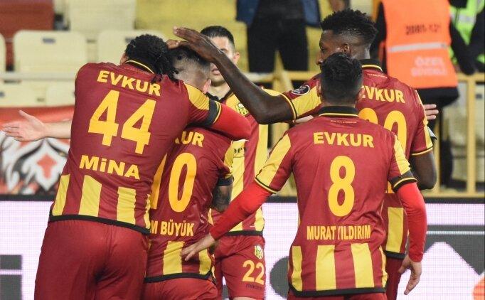 Yeni Malatyaspor, 3 hafta sonra güldü!