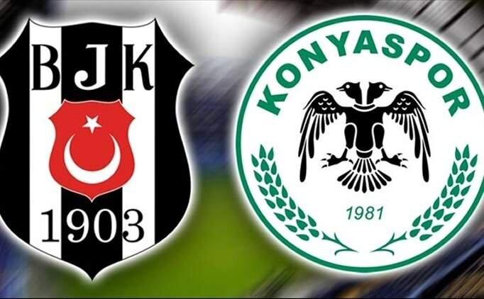 Beşiktaş Konyaspor maçı ÖZET İZLE, Beşiktaş Konya maçı kaç kaç bitti?