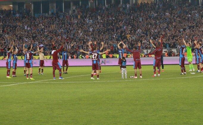 Trabzonspor'dan 'Fırtına gibi' derbi performansı