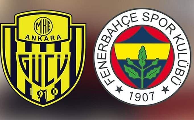 Ankaragücü Fenerbahçe maçı tüm golleri izle, FB maçı izle