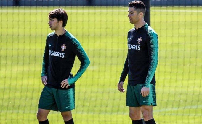 Joao Felix: 'Ronaldo ile PS'de gibiydim'