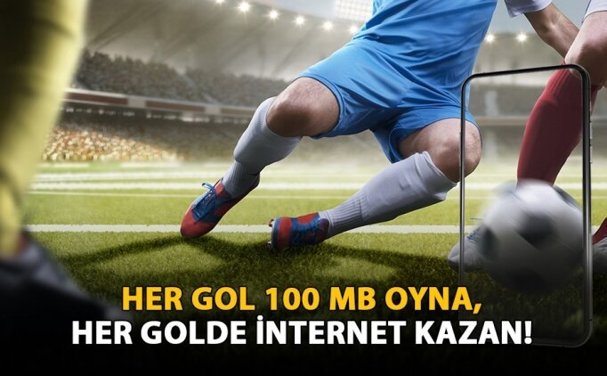 Avrupa'da gol oldukça internet kazan!