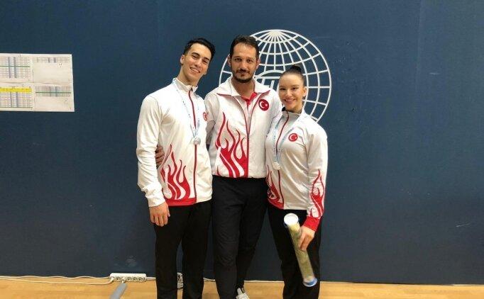 Milli cimnastikçilerden 5 madalya