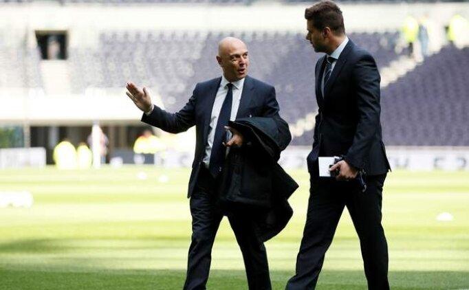 Levy: 'Tottenham, en büyüklerden olacak!'