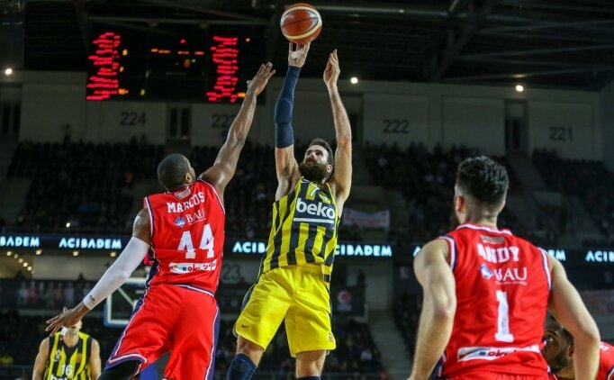 Fenerbahçe Beko, yarı finale rahat yükseldi!