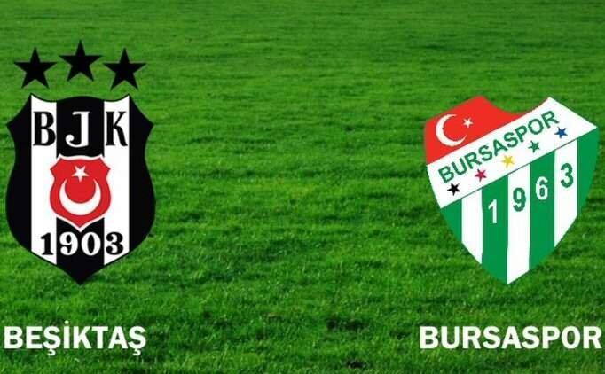 Beşiktaş Bursaspor maçı ÖZET  İZLE, BJK Bursaspor maçı kaç kaç bitti?