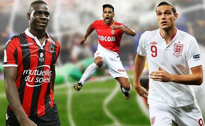 Galatasaray'da Diagne yerine üç aday; Balotelli, Carroll, Falcao