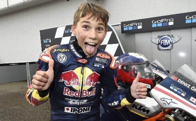 Milli motosikletçi Deniz Öncü, İspanya'da gaza basacak
