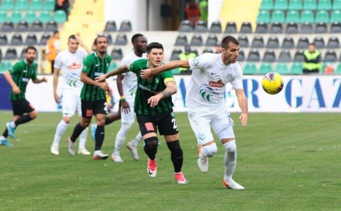 Denizlispor son bölümde Rizespor'u geçti; 2-0