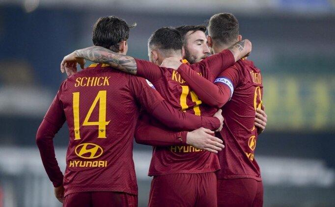 Roma, Chievo'ya patladı! 3 maç sonra...