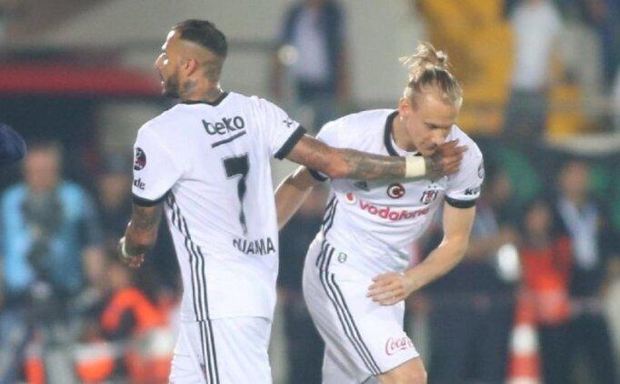 Beşiktaş'ta Quaresma ve Vida tehlikesi önlendi!