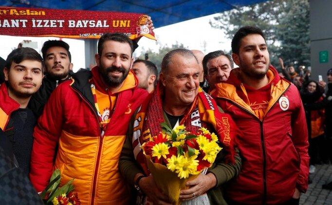 Bolu'da Galatasaray izdihamı
