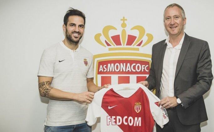 Monaco, Fabregas'ı transfer etti